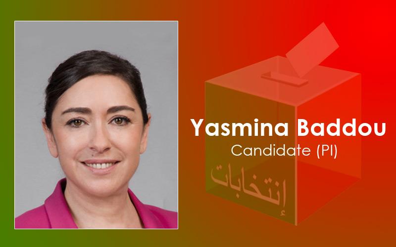Femmes et candidates : Yasmina Baddou (PI)