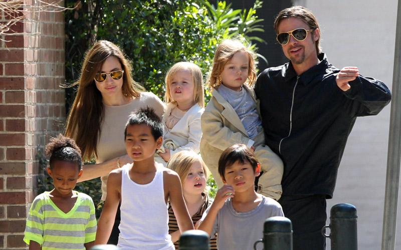 Brad Pitt et Angelina Jolie ensemble le temps d'une journée...La raison!