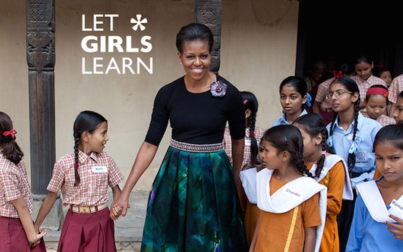 michelle obama plaide pour l ducation des filles dans le monde femmesdumaroc. Black Bedroom Furniture Sets. Home Design Ideas
