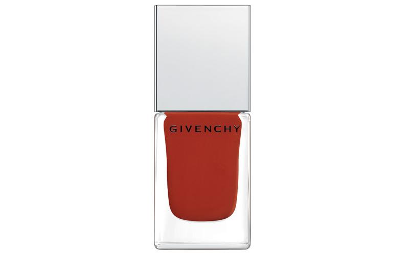 Le Vernis N°28 Rouge Acajou Vinyl Collection, Givenchy.