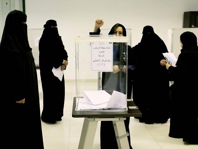 arabie saoudite les femmes ont vot pour la premi re fois femmesdumaroc. Black Bedroom Furniture Sets. Home Design Ideas
