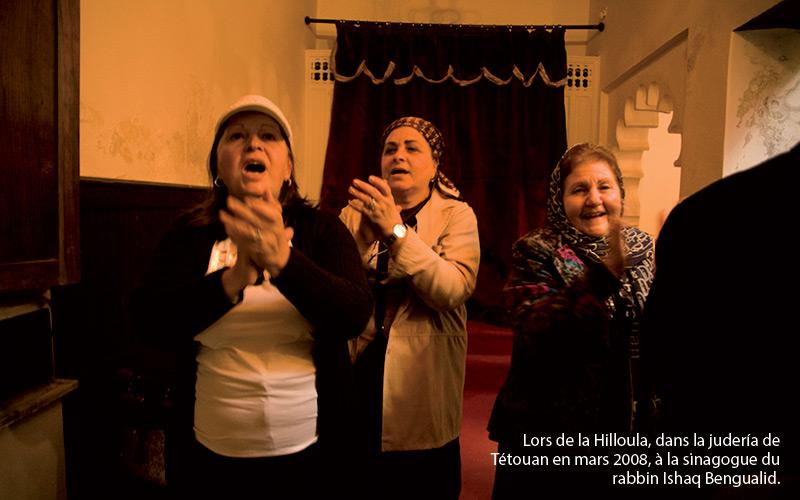 lors-de-la-hilloula-à-Tétouan-en-mars-2008,-dans-la-judería-au-sinagogue-du-Rabbin-Ishaq-Bengualid