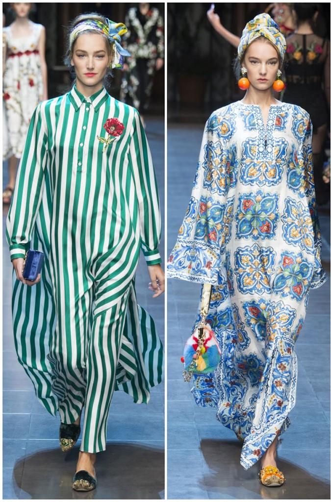 En version Aladin chez Dolce&Gabbana
