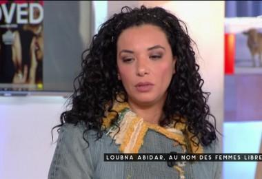 » Loubna Abidar : au nom des femmes libres» : l'actrice invitée de l'émission C à vous