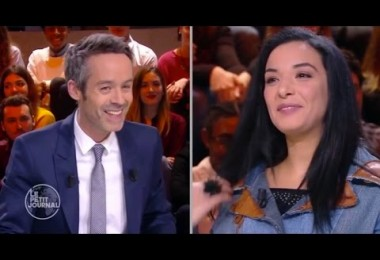 Loubna Abidar invitée du Petit Journal sur Canal +