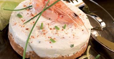 Cheese-cake-au-citron-et-aux-crevettes