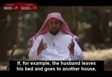 Un conseiller conjugal saoudien nous explique comment battre sa femme en 3 leçons