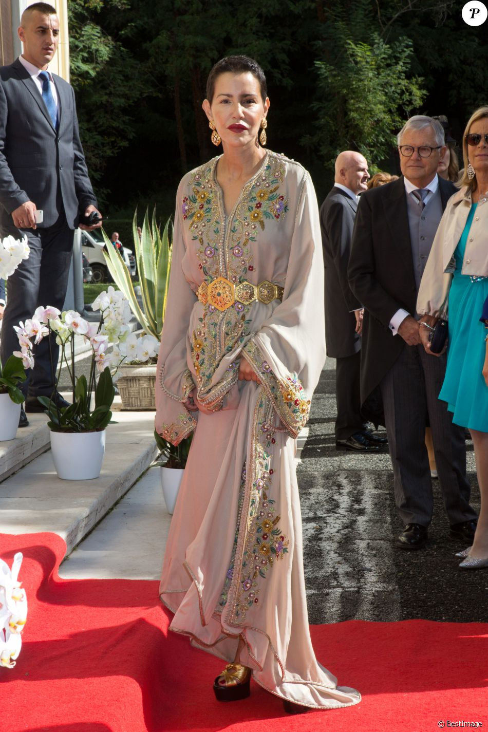 Lalla Meryem Majestueuse Au Mariage Du Prince D Albanie