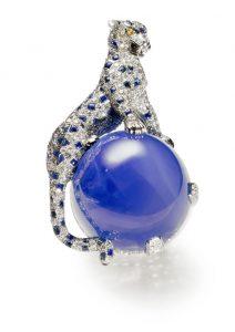 La broche Panthère créée par Jeanne Toussaint pour la duchesse de Windsor en 1949.