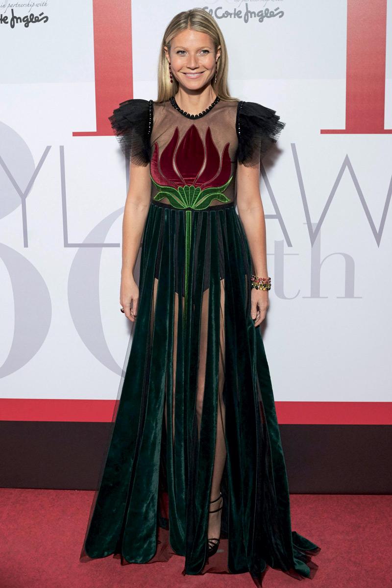 Gwyneth Paltrow en Gucci