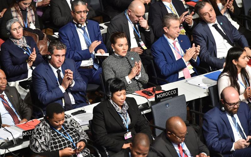 Le Président Macron salue l'engagement du Maroc en faveur du climat
