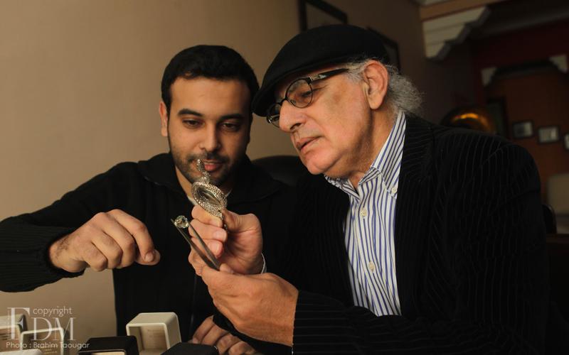 Mohamed Ouazzani, un créateur de bijoux inspirant et inspiré