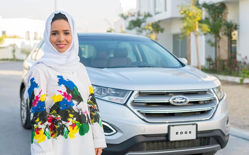 un stage de conduite by ford pour les femmes de l universit effat en arabie saoudite. Black Bedroom Furniture Sets. Home Design Ideas