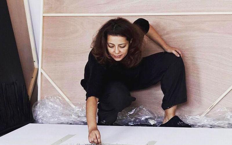 Fatime Zahra Morjani, une artiste-plasticienne engagée à l'Institut français de Rabat