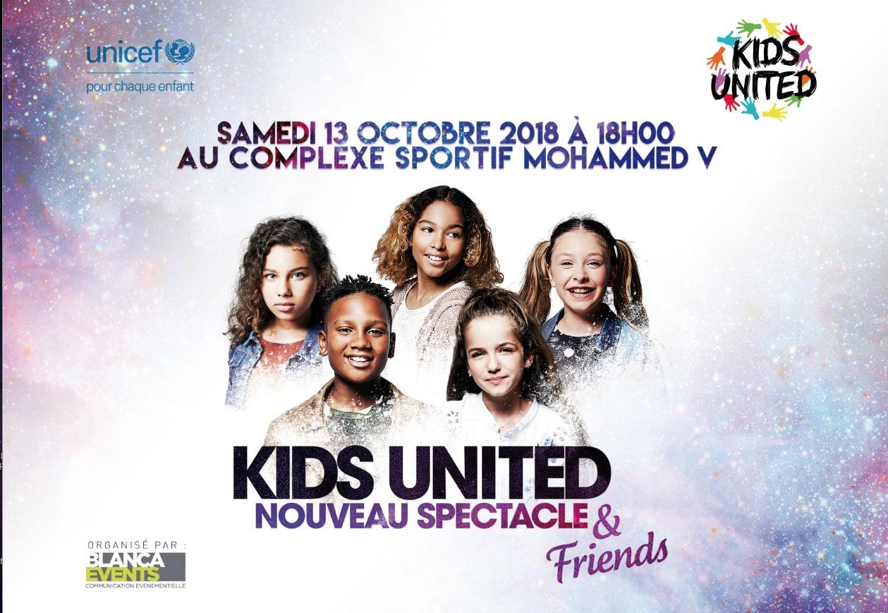 Les Kids United A Casablanca Le 13 Octobre Femmesdumaroc