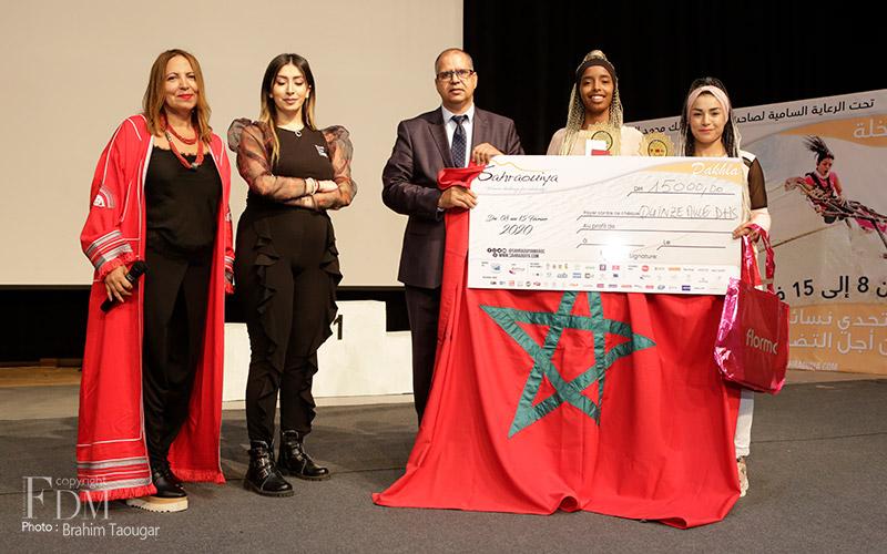 Sahraouiya 2020 : cérémonie de clôture sous le signe de l'amour et de l'émotion (photos)