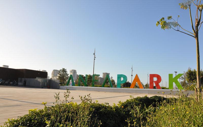 Anfa Park, le nouveau poumon vert de la ville blanche (photos)