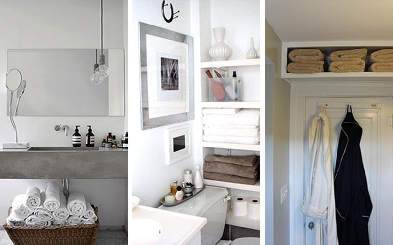Déco: Idées de rangement pour mini salle de bains – femmesdumaroc