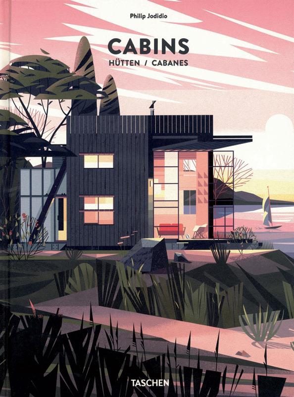 Livre design Cabins, éditions Taschen,  LE CARREFOUR DES LIVRES.