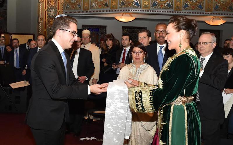 Son Altesse Royale la Princesse Lalla Hasnaa a reçu au nom de Sa Majesté le Roi Mohammed VI, dimanche à New York, le Prix de la liberté « Martin Luther King Jr-Rabbin Abraham Joshua Heschel