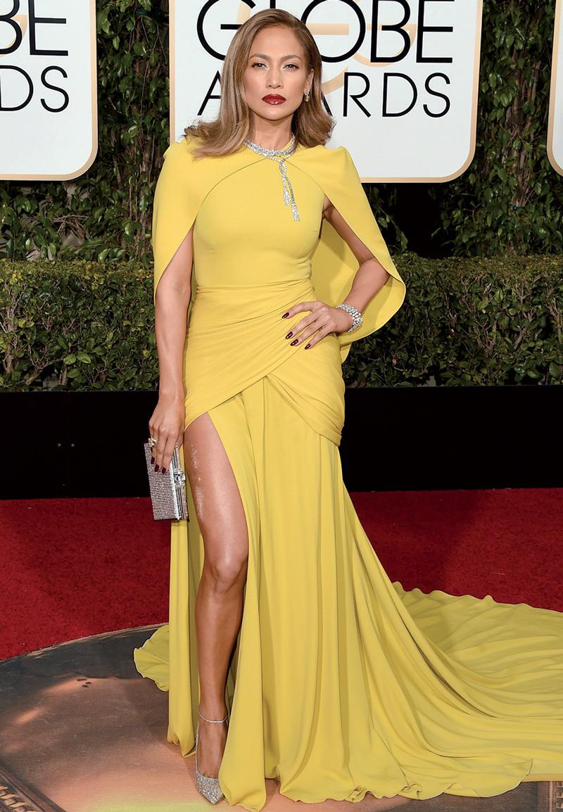 Jennifer Lopez en Giambattista Valli Haute Couture